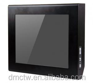 "Industrial Monitor with 15"" Panel, Touch Screen, 4 x USB"