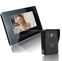 "Wired Touch Key 9"" Video Door Phone Intercom System intercom unit"
