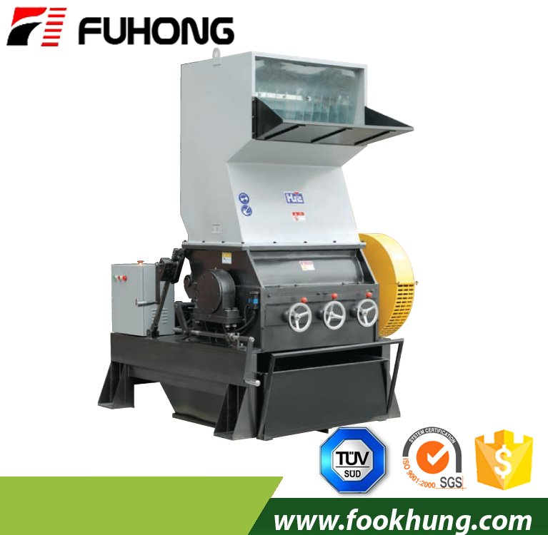 Ningbo fuhong HZS400 high performance big plastic recycled pe pp pvc waste plastic crusher for injection molding machine