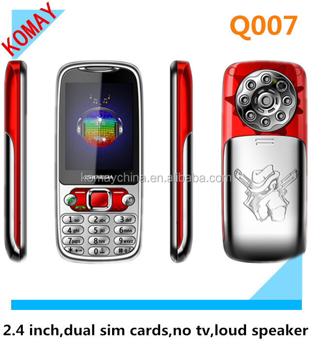 KOMAY dual sim bluetooth china mobile Q007