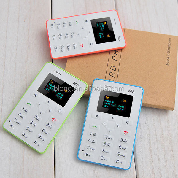 shenzhen electronic products worlds smallest card size mobile phone