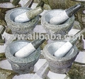 Mortar And Pestle, Thai Stone Granite