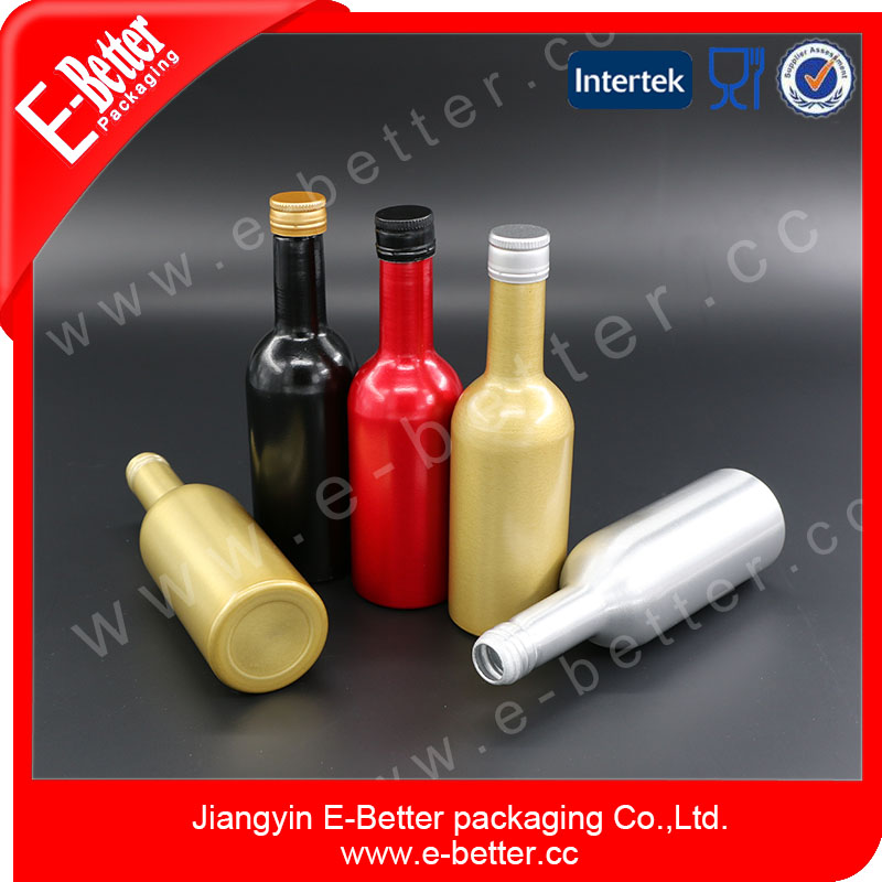 120ML Aluminum Diesel Fuel Additive Bottle