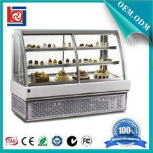 Glass Showcase cake display chiller