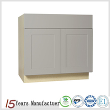 Apartment Shaker Discount Wood RTA Kitchen Cabinet Door Paticle Board Carcase