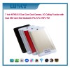 7 inch dual core tablet pc mtk8312 with HD screen and Android 4.2.2 , 3g calling