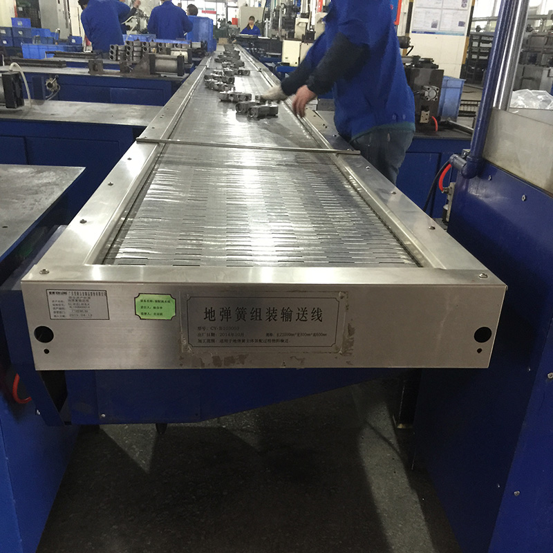 Hot Sale Aluminum Profile Chain Belt Conveyor for Sri Lanka