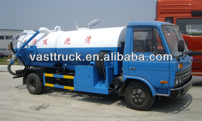 tanker truck sewage suction 6.3m3