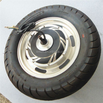 12inch 3kw hub motor brushless gearless design for for 3kw brushless dc motor