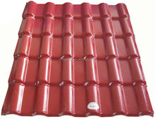 Splendid Water Resistance asa coated spanish synthetic resin japanese roof tiles