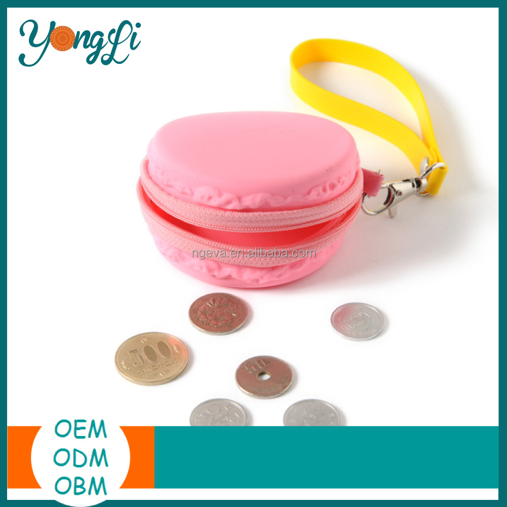 Eco-friendly Bulk Wholesale Silicone Coin Purse