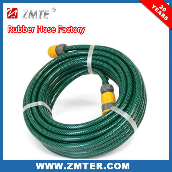 Flexible Soft High Pressure Low price PVC Water Garden Hose,Clear Braided PVC Hose