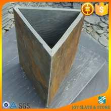 Natural stone triangle plant pots/gardening pots/tree planters