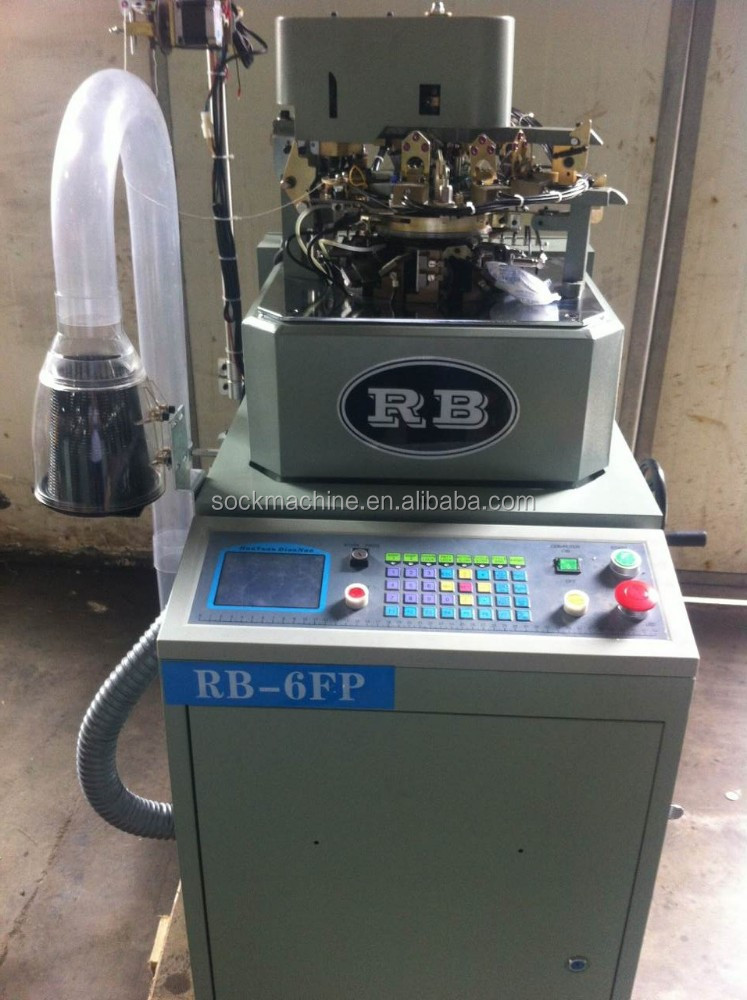 RB-6FP high quality plain socks setting machine price