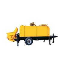 HBT25 mobile trailer concrete conveying pump with 25m3 capacity