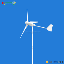 1KW residential household decorative roof wind turbine