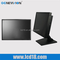 "Wholesale price 26"" metal shell industrial LCD panel display BNC/VGA input square lcd monitor 26 inch"