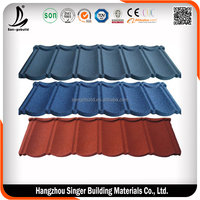 Copper Colored Metal Roof