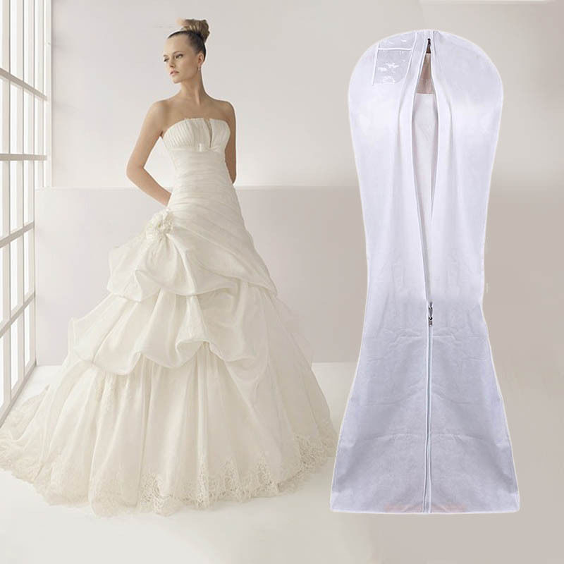 custom printed wedding dress garment bag wholesale,wedding dress cover bag,dust bag for dresses