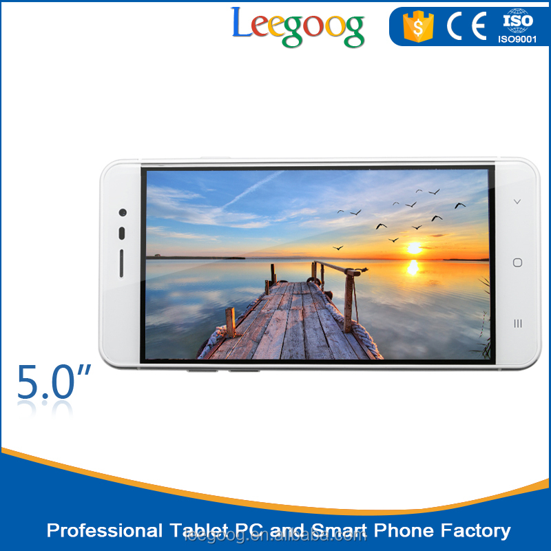 2016 Best selling 5.0 inch OEM HD Screen Android mobile Phone with factory price