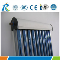 High pressure all glass 30 evacuated tubes solar collector