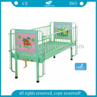 AG-CB002 hot sales one function cartoon picture child loft bed for children