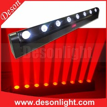 Linear 8x10w 4 in 1 led dj lights moving head bar city color