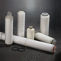 PP pleated filter cartridge water filter system