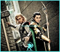 Windranger - Thor and Loki, part in the home laser light show