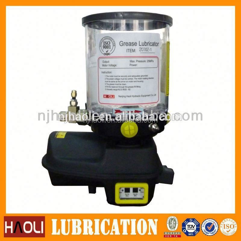 lithium grease electric lubrication pump