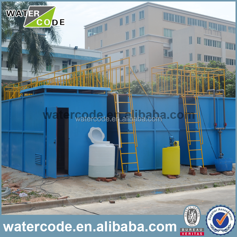 package pvdf small mini domestic waste water sewage / wastewater treatment plant with price for sale