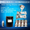 two parts mold making liquid silicone for artificial columns