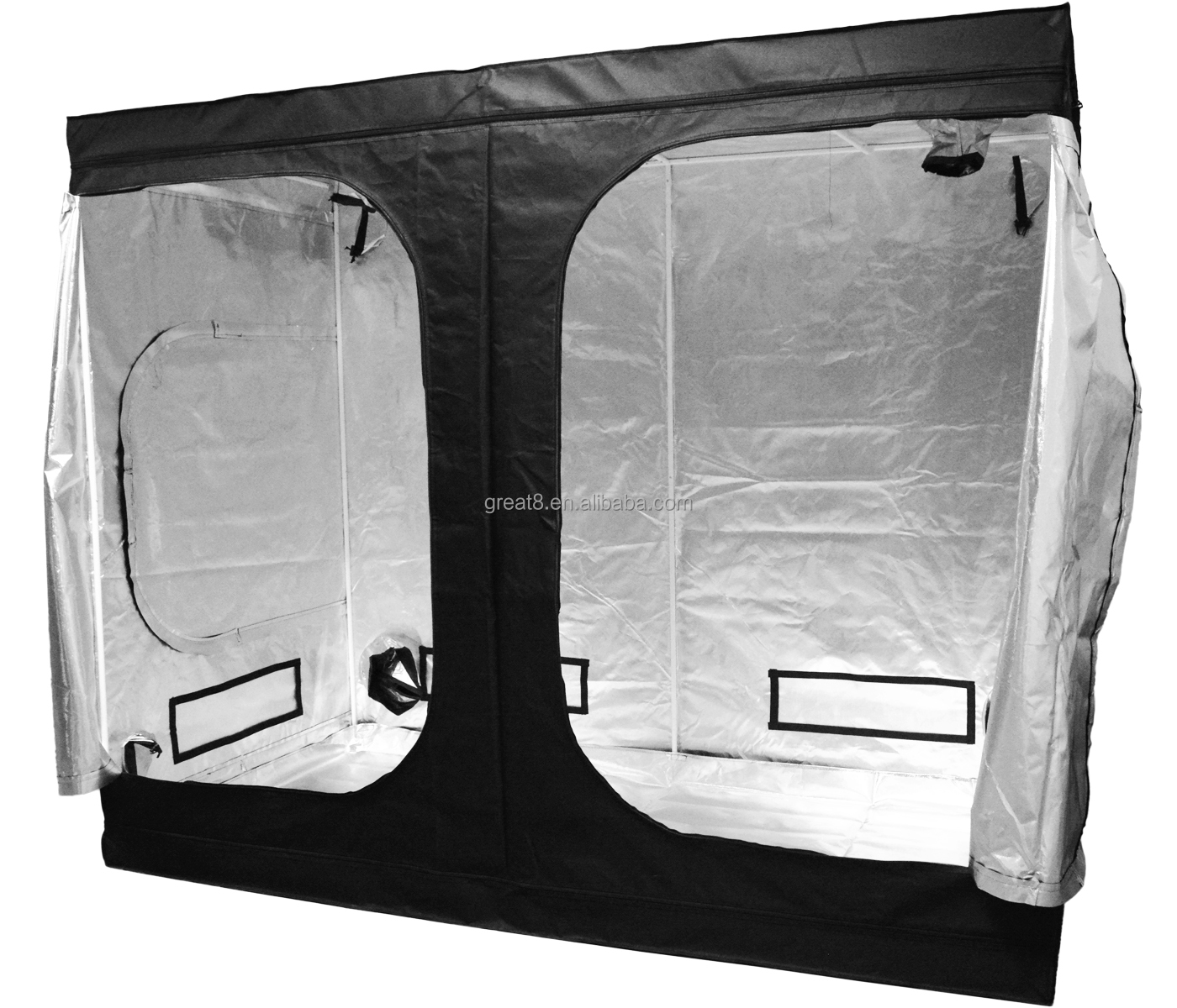 98.9% Highly Reflective Fabric Durable Mylar Grow Tent