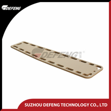 DDJ-6A Spine Board Match with Head Immobilizer First Aid Emergency Rescue Stretcher Universal Collars Head Immobilizer