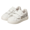 Alibaba Wholesale New Design Fashion Leather White Kid Casual Shoes Sneaker