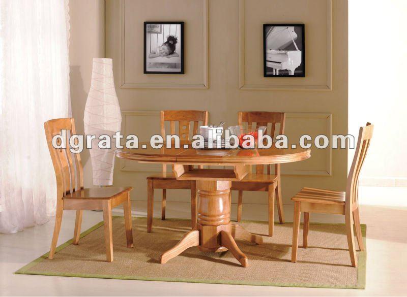 2012 nuevo dise o redondo mesa comedor dise os en caucho for Comedor redondo de madera