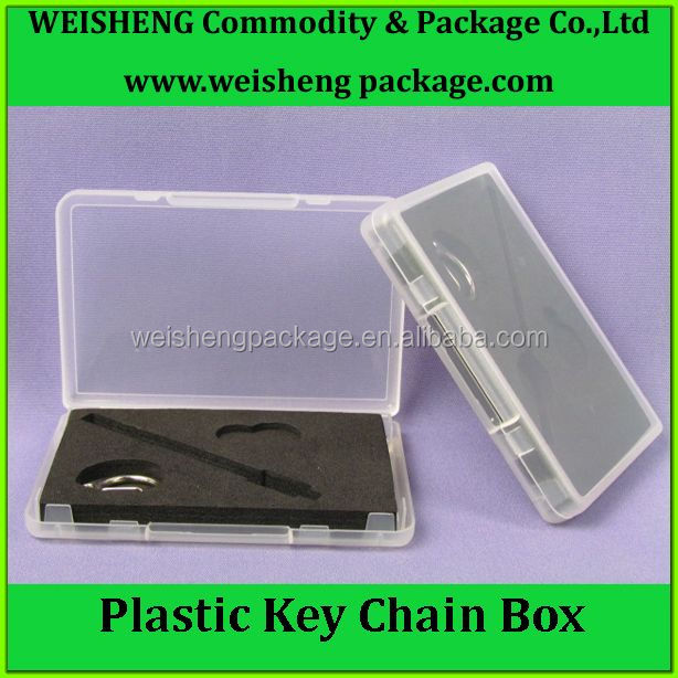 Portable key chain storage packing gift box