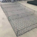 China supplier factory price hot dipped galvanized gabion basket for gardens