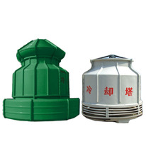 Low noise bottle type counter flow round mini frp cooling tower