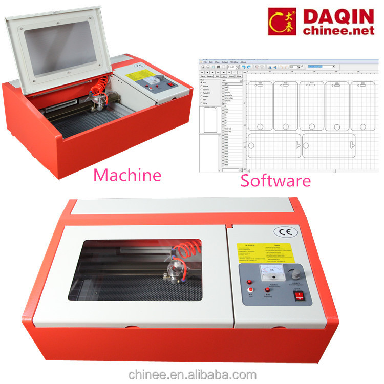 Mobile Laser tempered glass cutting machine for Mobile business grow in the industry