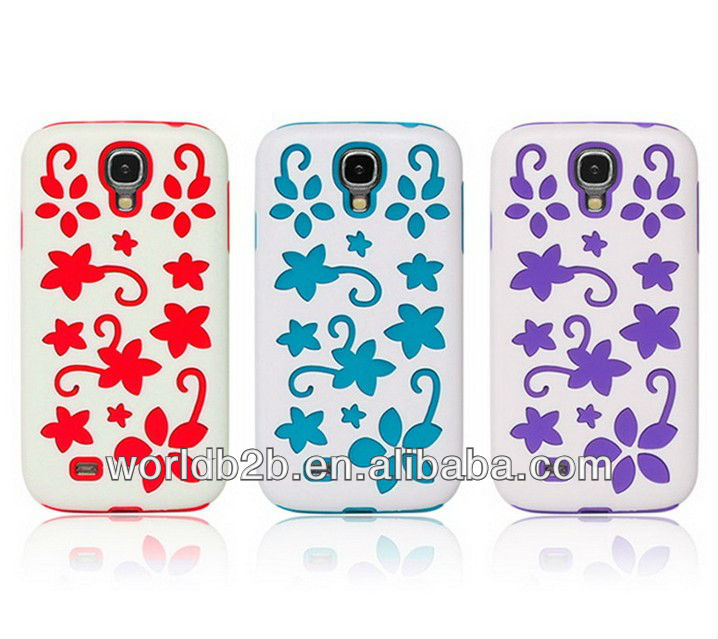 Crystal Diamond Hard + TPU Case Cover for Samsung Galaxy S4 i9500