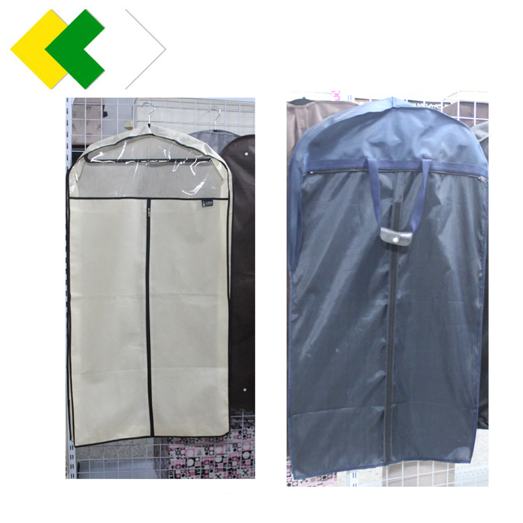 Set of dust-proof bag hanging transparent household storage clothes cover dust bag clothing coat cover