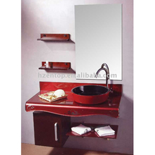 ENTOP bathroom flat Glass rectangular Corner Sink