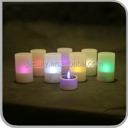 Solar pillar candles