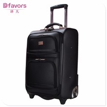 Hot selling pu colourful assoda trolley&luggage bag hot pu luggage sets leather boarding bag made in China