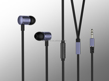 2016 wired earbuds consumer electronics cheap metal earphones headset 3.5mm jack with mic or volume control CE, Rohs, ISO