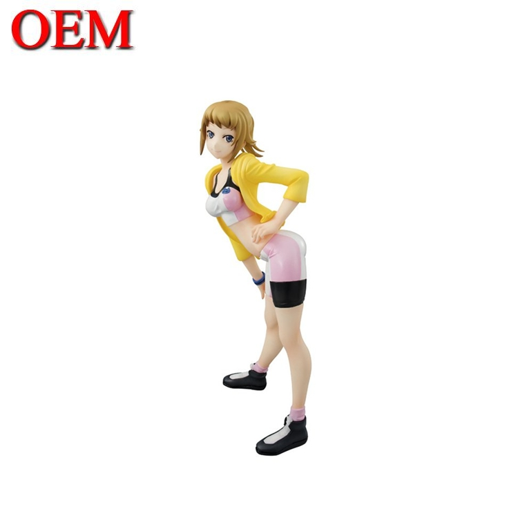 sexy cartoon gundam girl OEM toy