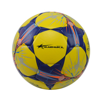 Machine-stitched official size weight soccer balls