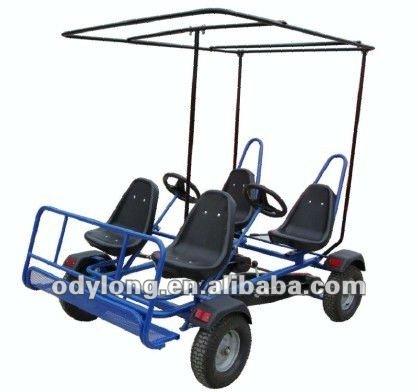 dual person 4 rad pedal kart 4 personen fahrrad pedal 4. Black Bedroom Furniture Sets. Home Design Ideas
