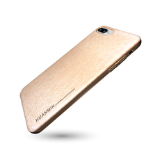 2018 Latest Simple Design Gold Color Mobile Phone Case Cover For iPhone 8 Plus 5.5inch